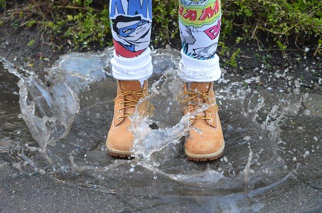 ブーツの水濡れ予防